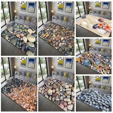 3D Cobblestone Pattern Mats Living Room Rug Carpet Floor Door Mats Bedroom Decor