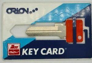 Key Card-  Key Blank - LW4 - C4  - Wallet key - Key Blank - Credit Card size