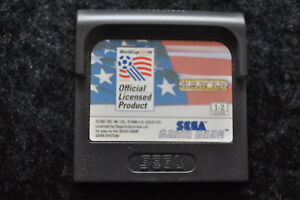 World Cup USA 94 Sega Game Gear