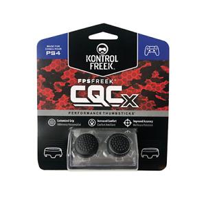 Kontrol Freek PS4 & PS5 Controller Thumb Performance Grip CQCx Black FPS 2pc NEW