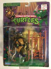 Vintage années 1990 Teenage Mutant Ninja Turtles Donatello sur un 10 Arrière Carte