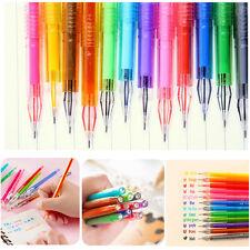 12 Pcs Colores Caramelo Pluma Coloreadas Papelería Acuarela Bolígrafo Pens