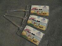 Walt Disney Resort Vero Beach FL Vintage Playing Card Luggage Name Tag Tags (3)