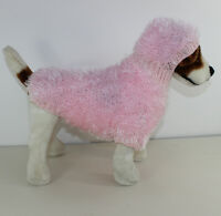PRINTED PAPER KNITTING INSTRUCTIONS - DOG FURRY HOODIE COAT KNITTING PATTERN