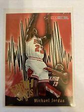 1995-96 Hoops #358 Michael Jordan (Earth Shakers) Bulls Card w/ Free Shipping!
