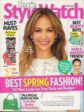 People Style Watch March 2014 J.Lo/ w/ML VG 090816DBE
