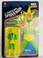 Marvel Legends Electro Retro Kenner Hasbro Action Figure Unpunched