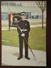 POSTCARD 17TH/21ST LANCERS - TROOPER WEST GERMANY 1986