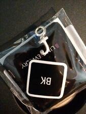 "Sterling Silver 925 - Alphabet ""J"" Block Letter - Plain Pandora Type Dangle Bead"