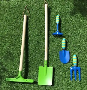 Kids Childrens Gardening Starter Set, Metal Tools BRAND NEW Junior UK