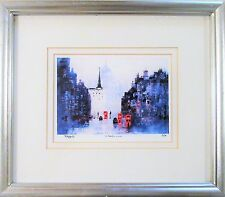 "Signed, Nimbered and Framed Import Art Print ""St. Paul's"" by Colin Raffell"