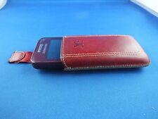 SUNCASE Handy Tasche Flip Style Case für Samsung GT-S58230 LaFleur Etui Rot TOP