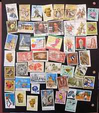 AUSTRALIA x 50 ASSORTED STAMPS SELECTION 7 EXCELLENT COLLECTION