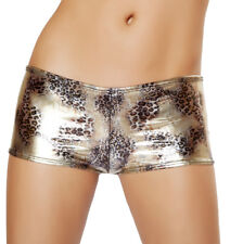 Hot Shorts Metallic Shorts Faded Gold Leopard Shorts SHLQ2968 Roma Short ST