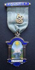 Masonic Founders Jewel Culminatum No 5709
