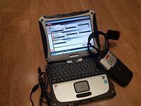 Car Van Truck Garage Scanner Diagnostic Laptop Tablet . Tool 2015.3 Dealer 2018+