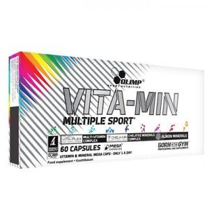OLIMP VITA-MIN MULTIPLE SPORT MEGA CAPS multivitamin mineral formula- 60 or 120