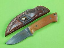 US Custom Hand Made COLORADO CUTLERY Hunting Knife & Sheath
