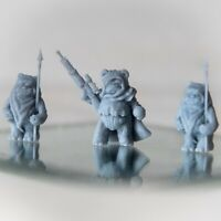 Ewok Squad 3 Pack-leader et 2 lance unités (figure custom Star Wars Legion )