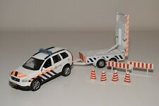 RR 1:34 VOLVO XC90 WITH TRAILER POLITIE DUTCH POLICE EXCELLENT CONDITION