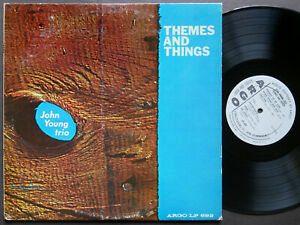 JOHN YOUNG TRIO Themes And Things LP ARGO LP-692 US 1962 MONO JAZZ