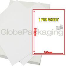 100 hojas de etiquetas - 1 por hoja-Tamaño 200 X 288 mm