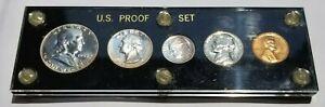 1955 US PROOF SET CAPITAL HOLDER EXCELLENT BU NICE COINS!