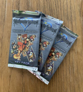 New Disney Kingdom Hearts Chain of Memories Trading Card Key Pack
