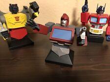 2002 Hard Hero Transformers IRONHIDE Gen 1 Bust W/ Box MINT #0281 / 4000