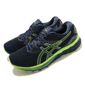 Asics Gel-Nimbus 23 Lite-Show French Blue Hazard Green Men Running 1011B007-400