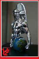 SILVER SURFER CHROME Buste Diamond Select 600Ex Monde bust surfeur argent # NEUF