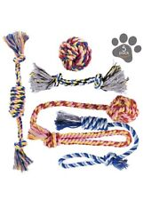 Dog Chew Toys Puppy Teething Toys Toy Set Rope Toy Puppy Toys Medium & Small Dog