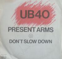 "7"" 1980 REGGAE KULT IN VG+++ ! UB 40 : Present Arms"