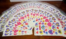Old Store Stock Water Decals Candles Hearts Decoupage Lot School Teacher 100pc