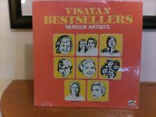 Visayan Bestsellers RARE LP Various Art. Plaka Pilipino TSP-5293 1980 Shrink NM!