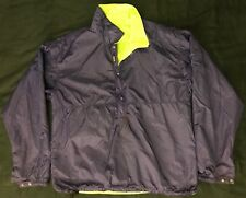Vintage Patagonia Reversible Packable Jacket Size Medium Neon Green Retro