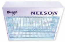 Nelson Ik40 Electric Bug Control Zapper Nelmbik40 20W 2-Lamps, Steel
