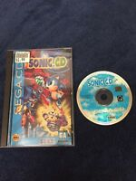 Sonic CD Sega CD Complete!