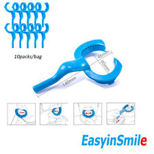 10packs Easyinsmile Dental Suction Mouth Opener Lip Cheek Retractor USA Tools