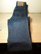 Fiorucci Womens Safety Jeans Dark Wash Size 26