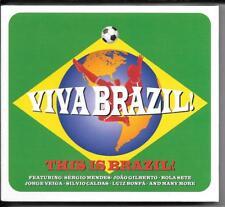 3 CD Sergio Mendes, Joao Gilberto, Quincy Jones `Viva Brazil` Neu/New/OVP