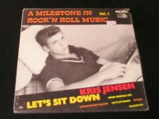Kris Jensen - Let's Sit Down - Bear Family LP - SEALED!