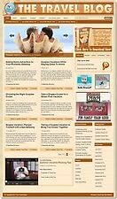 Travel Niche Wordpress Blog Website - Use With Clickbank, Adsense, Amazon