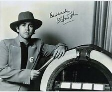 Young Elton John with COPY Autograph at Jukebox 10x8 Photo