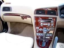 VOLVO V70 S60 XC70 MKII MK 2 INTERIOR BURL WOOD DASH TRIM KIT SET 2005 2006 2007