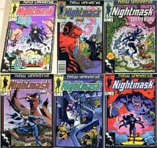 NIGHTMASK 1-6 RUN 1 2 3 4 5 6 VFNM MARVEL NEW UNIVERSE 1986