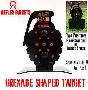 Grenade Shaped Target for Air Rifle Airgun