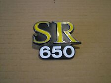 KAWASAKI SR650, KZ650SR D2,   SIDE COVER BADGE NEW REPRODUCTION