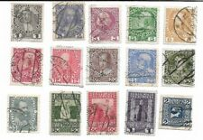 Austria: Lot of 15 Stamps from Empire Era