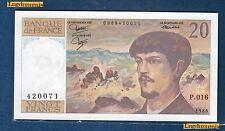 20 Francs Debussy Type 1980 - 1986 NEUF Alphabet P.016
